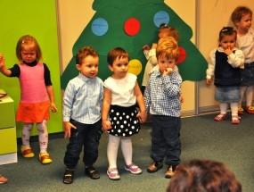 Inscenizacje świąteczne – grupa Biedronki i Misie