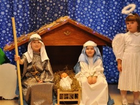 Inscenizacje świąteczne – grupa Pszczółki