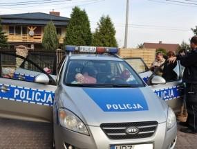 Bezpieczny Przedszkolak – wizyta Policji