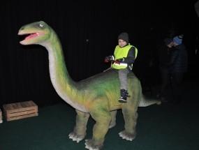 Dinozaury na żywo