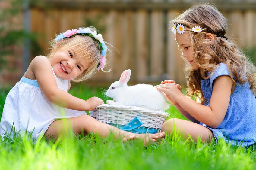 Zajączek Wielkanocny - Gumisiowe Przedszkole Językowe