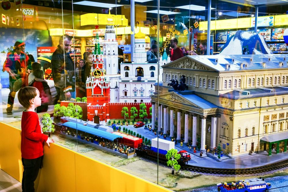 Wystawa LEGO - Gumisiowe Przedszkole Językowe